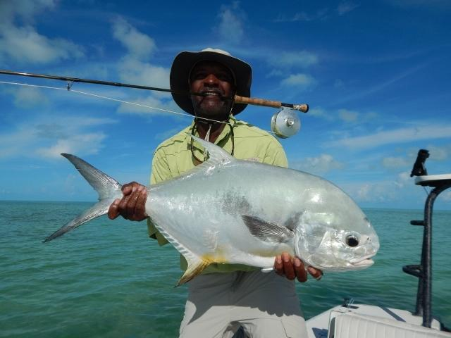 Benry Smith with an Andros Permit
